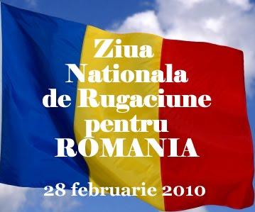 Ziua Nationala de Rugaciune pentru Romania 2010