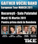 Gaither Vocal Band la Bucuresti