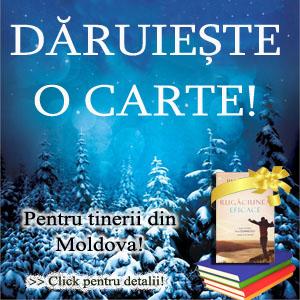 Daruieste o carte pentru tinerii din Republica Moldova
