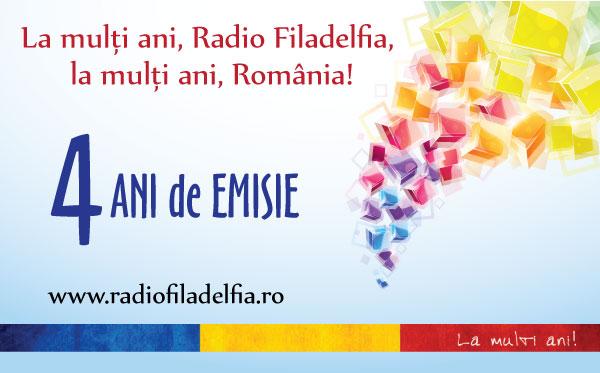 Radio FILADELFIA - 4 ANI DE EMISIE
