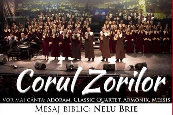 Corul Zorilor in concert la Bucuresti si Alba Iulia